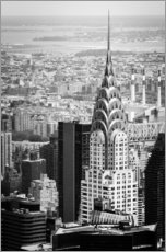Gallery print  Chrysler Buildung in New York City - Michael Haußmann