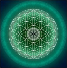 Wall sticker Flower of Life 11