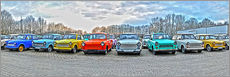 Wall sticker  GDR Trabant, Trabant collection - HADYPHOTO