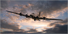 Gallery print  The Flying Fortress - airpowerart