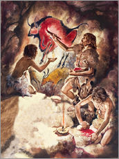 Wall sticker  Cave paintings - Peter Jackson
