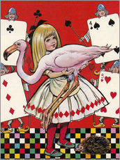 Gallery Print  Alice in Wonderland - Jesus Blasco