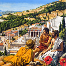 Gallery print  Ancient Greece - Roger Payne