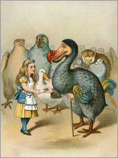 John Tenniel - The Dodo solemnly presented the thimble from Alice's Adventures in Wonderland