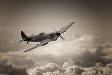 Wall Stickers  Spitfire Patrol - airpowerart