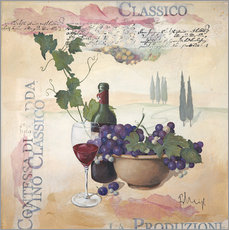 Wall sticker  Vino classico - Franz Heigl