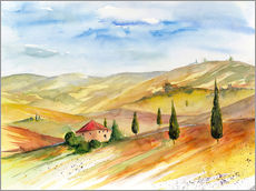 Wall sticker  Tuscany 2 - Jitka Krause