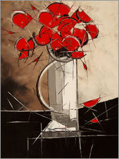 Gallery print  Abstract Poppies - JIEL