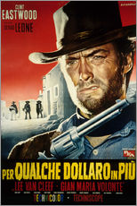Gallery print  For a few dollars more (Italian)