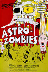 Wall sticker  THE ASTRO-ZOMBIES, 1968