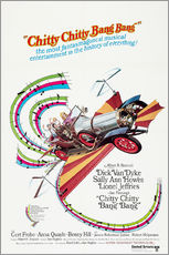 Wall sticker  Chitty Chitty Bang Bang