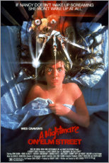 Wood print  A Nightmare on Elm Street - Entertainment Collection