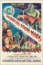 Gallery print  Invaders from Mars
