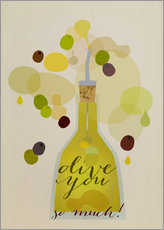 Gallery print  Olive you so much - Elisandra Sevenstar