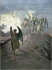 Gallery print  Paradise Lost - Gustave Doré