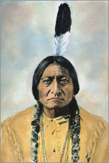 Wall Stickers  Sitting Bull - David F. Barry
