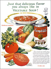 Gallery print  Campbell Soup