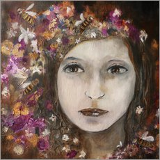 Gallery print  a girl - Christin Lamade