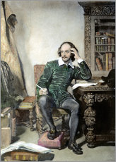 Gallery print  William Shakespeare - John Faed