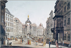 Wall sticker  Vienna: Hohemarkt, 1793.