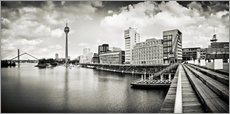 Gallery print  Typical Duesseldorf | 01 (b/w) - Frank Wächter