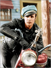 Gallery print  Marlon Brando as a biker