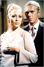 Wall Stickers  THE THOMAS CROWN AFFAIR, Faye Dunaway, Steve McQueen