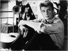 Wall Sticker  Tales of Paris, Johnny Hallyday