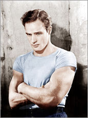 Wall sticker  A Streetcar Named Desire, Marlon Brando