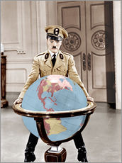 Gallery print  The Great Dictator - Charlie Chaplin