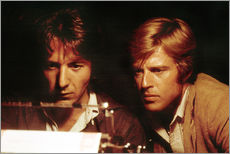 Gallery print  ALL THE PRESIDENT'S MEN, Robert Redford, Dustin Hoffman, 1976