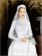 Wall sticker  The Wedding in Monaco, Grace Kelly