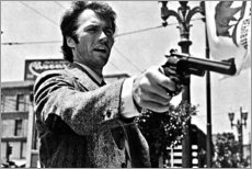 Premium poster  Clint Eastwood in Dirty Harry