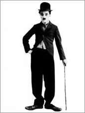 Gallery print  Charlie Chaplin with walking stick