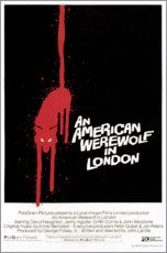 Acrylic print  An American Werewolf in London