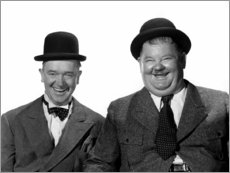 Gallery Print  Stan Laurel and Oliver Hardy
