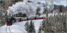 Wall sticker  Brocken Railway Fotokurve4 - Steffen Gierok