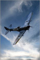 Wall sticker  Spitfire Pass - airpowerart