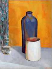 Gallery print  Still Life with a Blue Bottle - Roger Fry