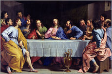 Gallery print  The Last Supper - Philippe de Champaigne