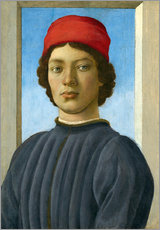 Wall sticker  Portrait of a Youth - Fra Filippo Lippi