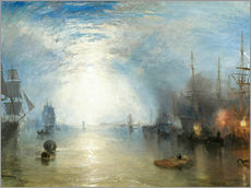 Gallery print  Keelmen Heaving in Coals by Moonlight - Joseph Mallord William Turner