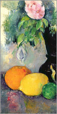 Gallery print  Flowers and fruits - Paul Cézanne