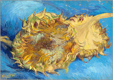 Wall sticker  Two sunflowers - Vincent van Gogh