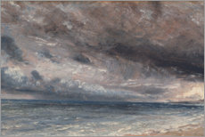 Wall Stickers  The Coast at Brighton - Stormy Evening, c.1828 - John Constable