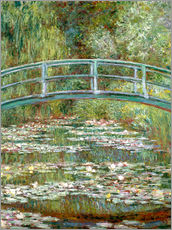 Wall sticker  The Japanese bridge - Claude Monet
