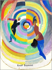 Wall sticker  Political Drama - Robert Delaunay
