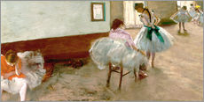 Gallery print  Dancing Lesson - Edgar Degas