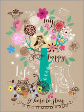Gallery print  My happy new life - Elisandra Sevenstar