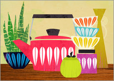 Wall Stickers  stillife with kettle - Elisandra Sevenstar